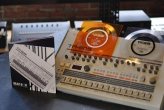 Hip Hop reissue label release homage to the TR-909 drum machine with double 7″ flexi discs for Record Store Day
