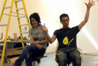 Tim & Sue explain the punk influence behind their show Nihilistic Optimistic