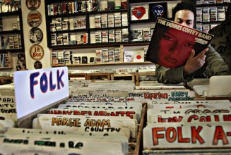 Independent record shops now account for over 50% of all vinyl sales