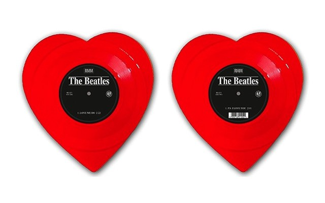 the-beatles-love-me-do-appears-on-heart-shaped-vinyl