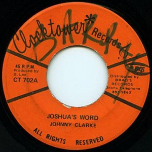 johnny clarke_joshua's word