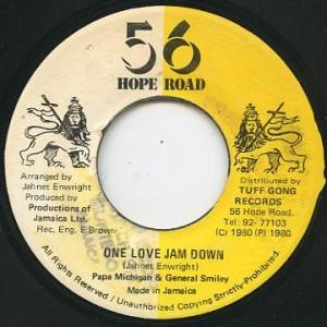 papa michigan_one love jam down