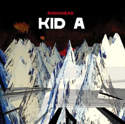 Radiohead Artwork Kid A