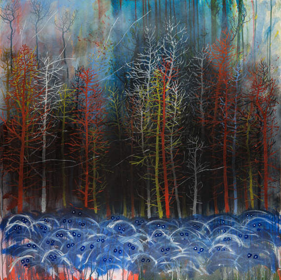 stanley donwood_Friday Woods