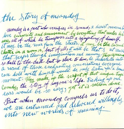 The Story of Moondog