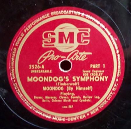 Moondog's symphony