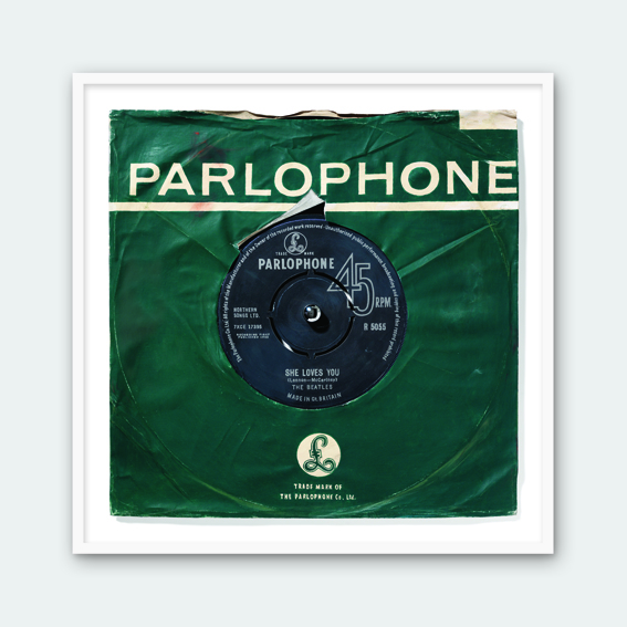 Parlophone - She Loves You (Framed)
