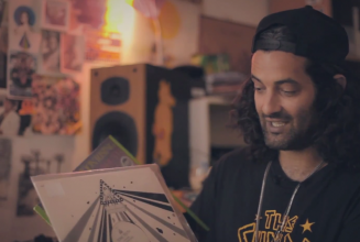 Kutmah shows FACT.TV some of his most treasured records