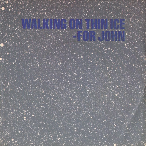walking on thin ice_yoko ono