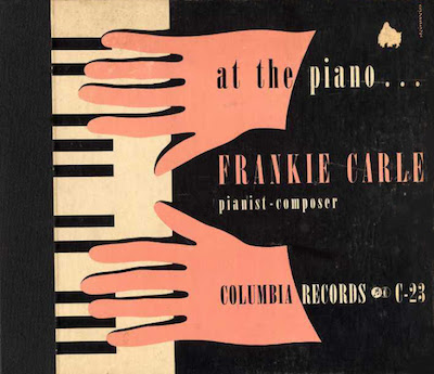 1940 At the Piano…Frankie Carle [Columbia Records catalogue no. C-23] signed Steinweiss