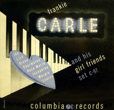 1942 Frankie Carle and his Girl Friends [Columbia Records catalogue no. C-97] signed Steinweiss