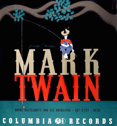 1942 Jerome Kern -Mark Twain- [Columbia Records catalogue no. X-227] signed Steinweiss