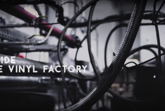 The birth of a vinyl record – from factory to turntable in 60 seconds