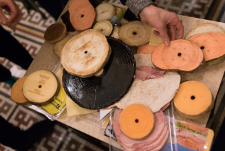 Matthew Herbert turned cheese, aubergine and ham into edible, playable vinyl records