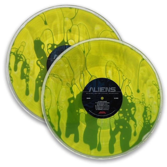 Mondo To Release Aliens Soundtrack As Liquid Filled Vinyl