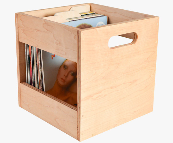 Incroyable Airwood Record Crates