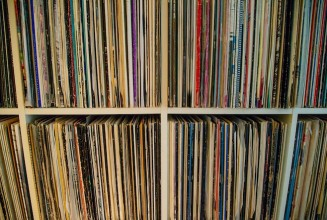 Mother shares her late son's record collection with the world