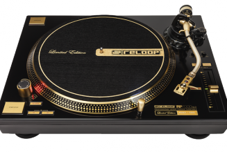 Reloop celebrates 20 years with limited edition gold turntable