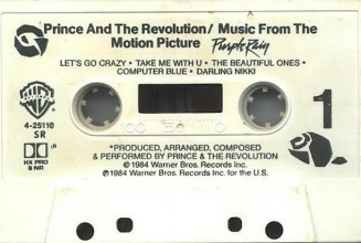 Four classic Prince albums including <em>Purple Rain</em> to be reissued on cassette