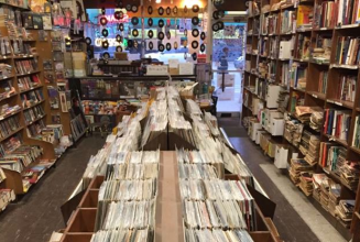 This record store is giving away all of its vinyl and books