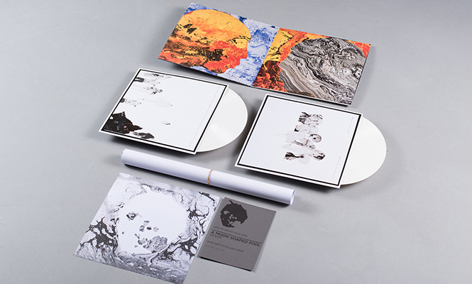 The Vinyl Edition Of Radiohead S A Moon Shaped Pool Is