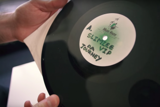 Watch legendary grime DJ Slimzee open up his prized dubplate collection