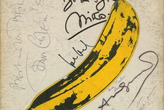 A rare copy of <em>The Velvet Underground &#038; Nico</em> signed by Andy Warhol is up for sale