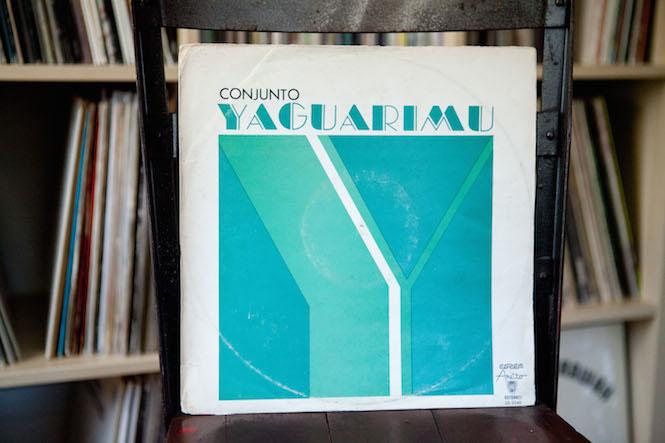 Sleeve design: Noelvis Díaz. Conjunto Yaguarimu - Self-Titled