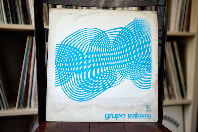 Sleeve design: Morales del Toro. Grupo Irakere - Self-Titled