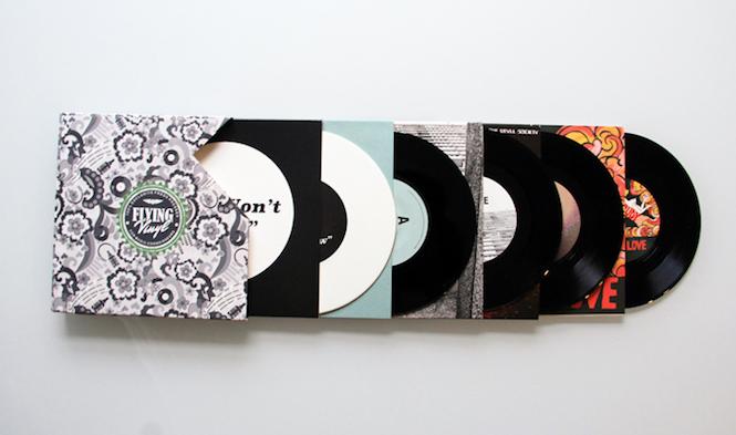flying vinyl