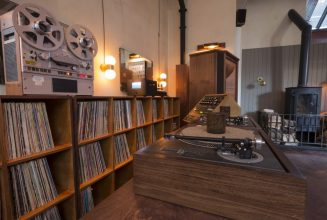 A massive new vinyl listening space is opening in London's King's Cross