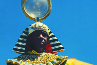 Classic and unreleased Sun Ra tracks pressed to coloured 10″ EPs