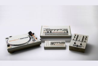 Roland expands into vinyl DJ gear with 909-themed turntable and mixer