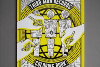 Third Man Records unveils vinyl-themed colouring book