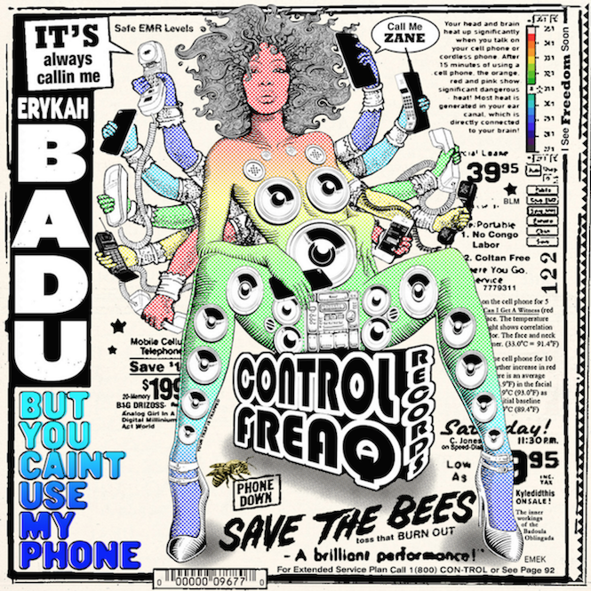Erykah Badu to release <em> But You Caint Use My Phone</em> on vinyl