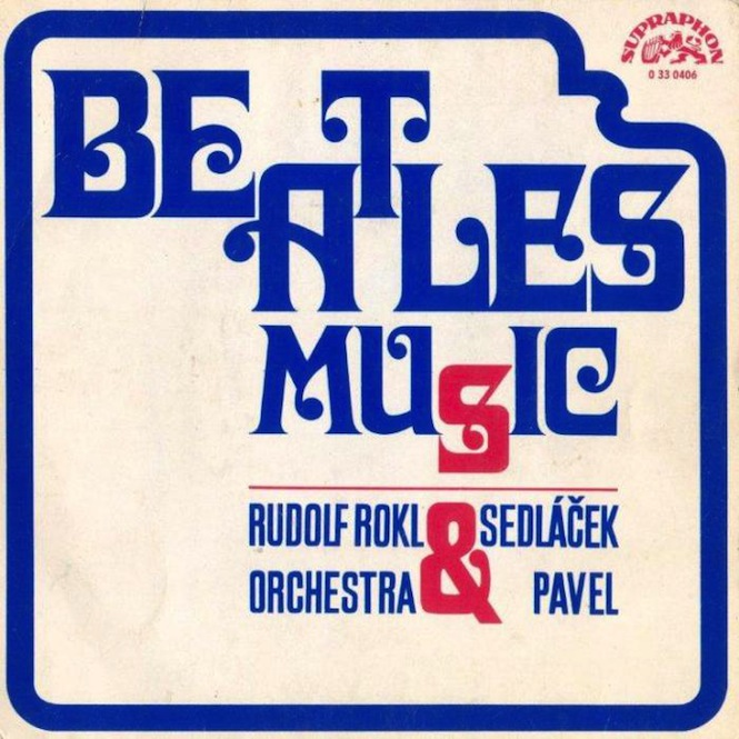 Rudolf Rokl Orchestra:Pavel Sedlacek- Beatles Music EP (Supraphon) [export version]