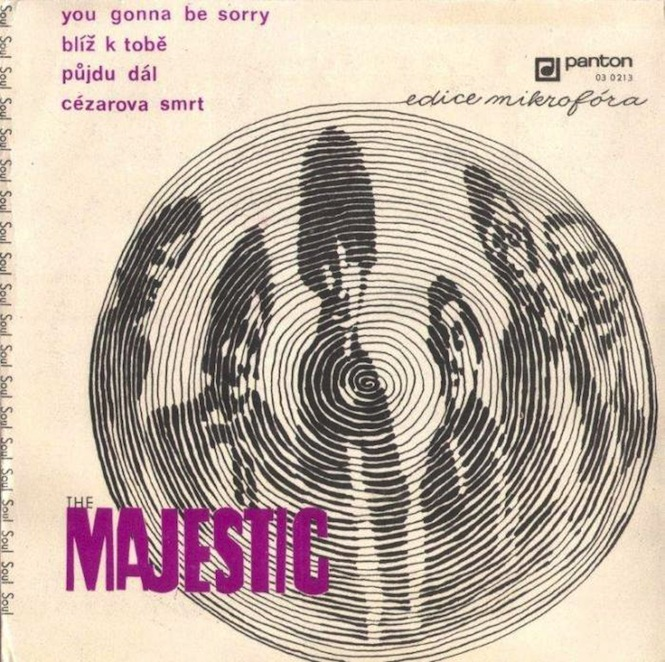 The Majestic- You Gonna Be Sorry EP (Panton)
