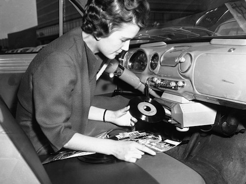 An Interesting Article When Cars Had Record Players