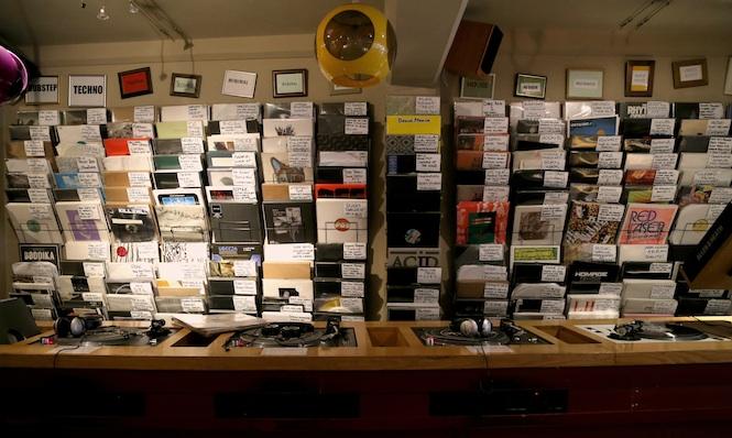 wall of vinyl