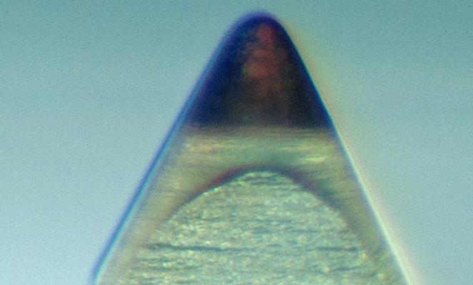 Needle Work Incredible Photos Of Turntable Styli Under
