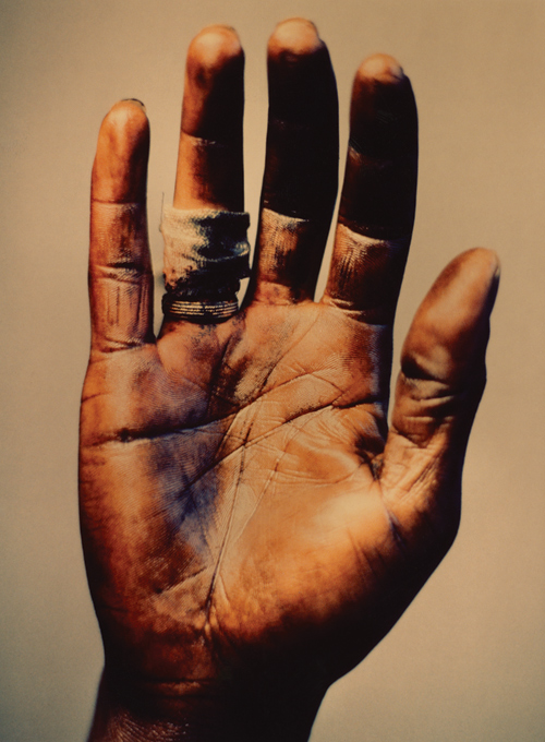 unfinished hand
