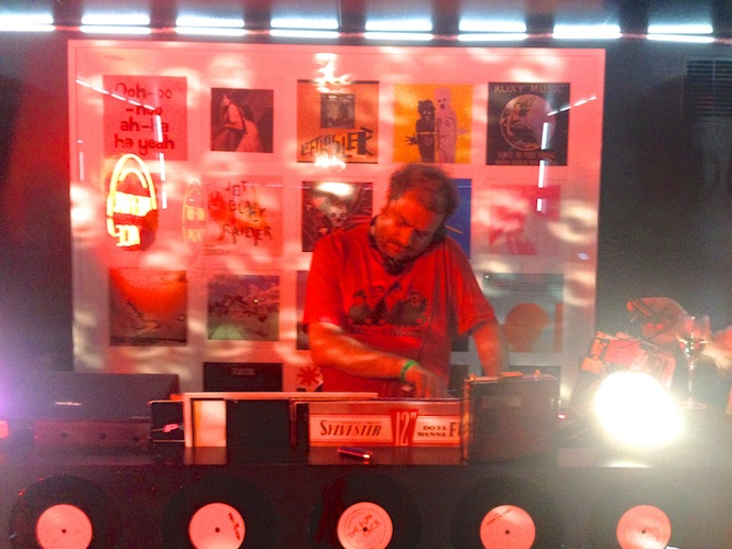 Keith McIver at 'The Vinyl Factory Touring Laboratory of Sounds', Serpentine Summer Party