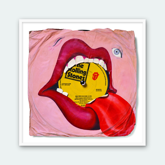Rolling Stones ÔÇô Brown Sugar (Framed)
