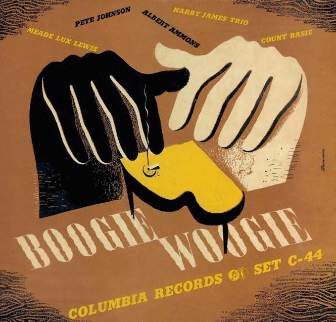 1942 -Boogie Woogie- [Columbia Masterworks catalogue no. C-44] signed Steinweiss
