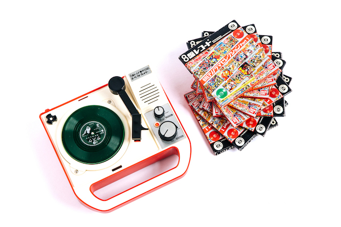 Eightban Record player _ 3_ discs---