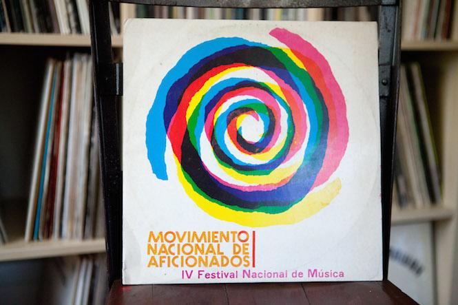 Sleeve design: Amaury Febles. Various - Movimiento Nacional De Aficionados | IV Festival Nacional de Música