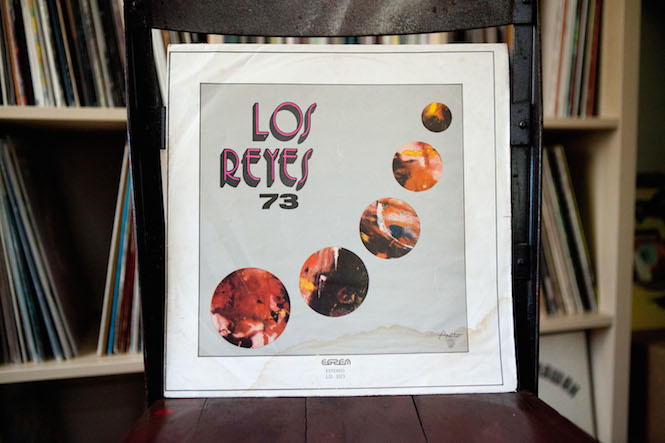 Sleeve design: Hipolito Cabrera. Los Reyes '73 - Self-Titled