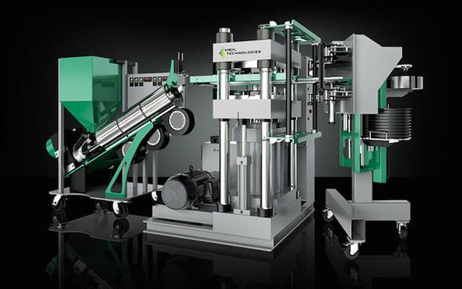Viryl Warmtone Pressing Machines